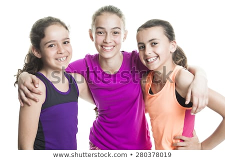 tree young teen sport isolated on white background stock photo © lopolo