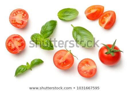 Vermelho romani tomates agricultores mercado Foto stock © bobkeenan