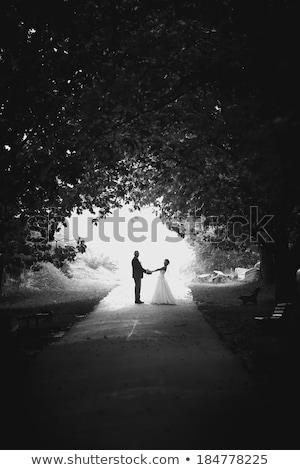 Para taniec sposób biały kobieta uśmiech Zdjęcia stock © get4net