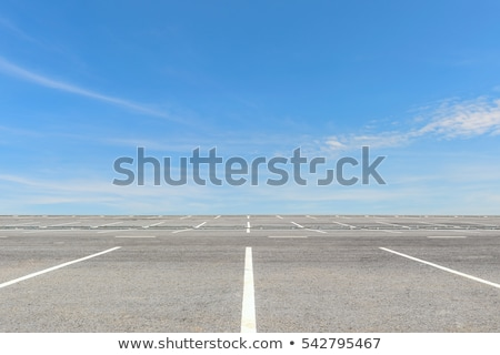 dividing lines in empty parking lot Stock photo © sirylok