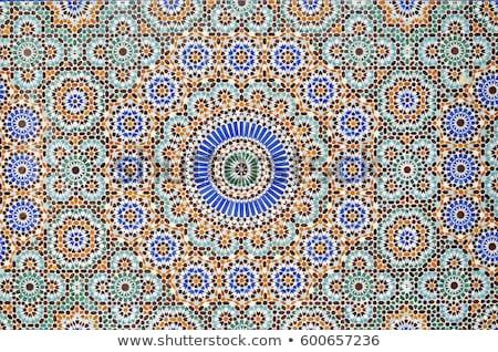traditionnel · arabe · tuiles · Dubaï - photo stock © travelphotography