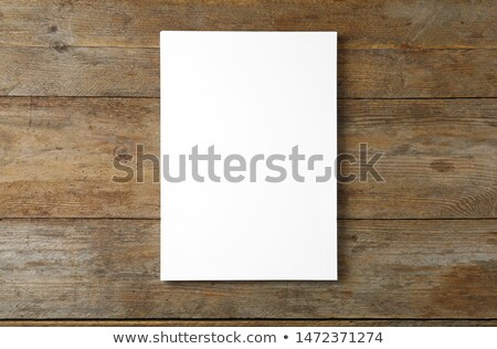 brown blank book stock photo © a2bb5s