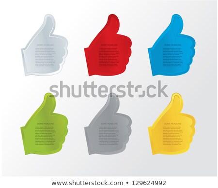 Egyszerű vektor gombok weboldal luxus színek Stock fotó © vitek38