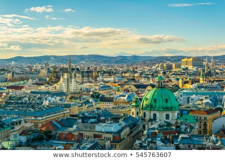 Hall of old church in Vienna Stock photo © Massonforstock