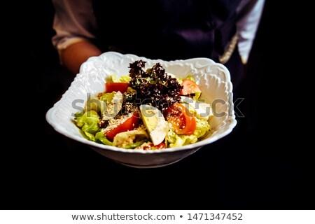 Soubrette plaque aliments sains alimentaire Photo stock © wavebreak_media
