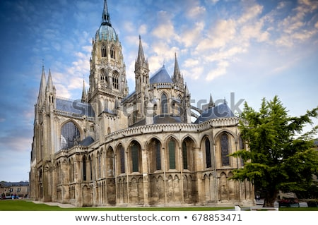 Cathedral of Bayeux, Normandy, France stock photo © Bertl123