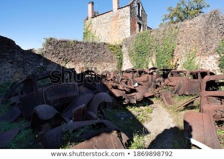 Cars Oradour sur Glane Stock photo © ivonnewierink