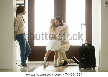 rodziny · ojciec · matka · dzieci · psa · zewnątrz - zdjęcia stock © ozgur