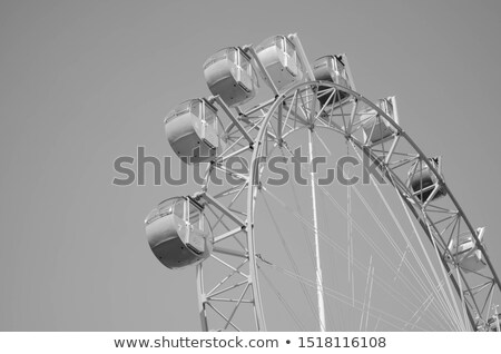 Moder ferris wheel Stock photo © jakatics