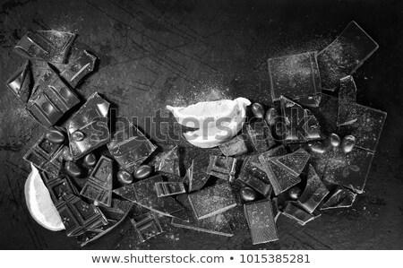 fahéj · szegfűszeg · köteg · fehér · étel · természet - stock fotó © oly5