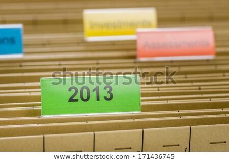 絞首刑 ファイル フォルダ 2013 オフィス 文書 ストックフォト © Zerbor