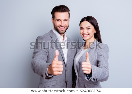 portret · mannelijke · leider · team · business - stockfoto © sebastiangauert