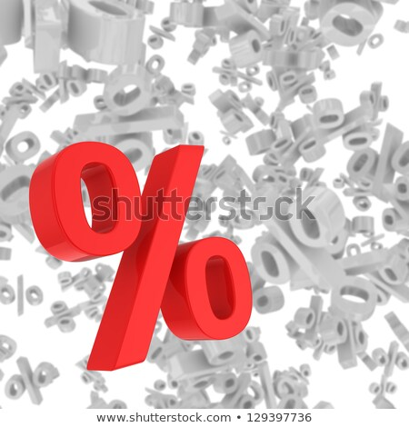 Beaucoup pourcentages fête mode carte feuille Photo stock © Ustofre9