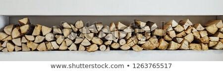 ahşap · arka · plan · kuru · kıyılmış · yakacak · odun - stok fotoğraf © lightsource