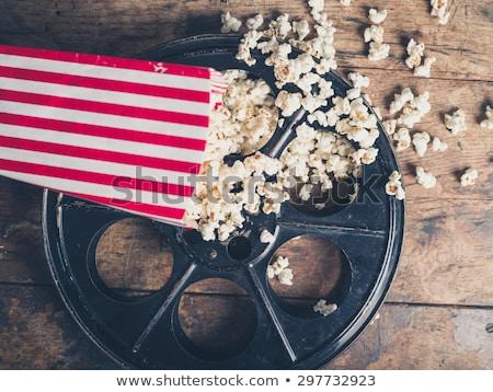 Movie Popcorn Stock photo © Lightsource