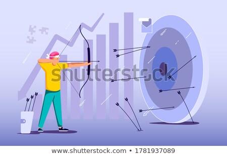 businessman bows stock photo © goryhater