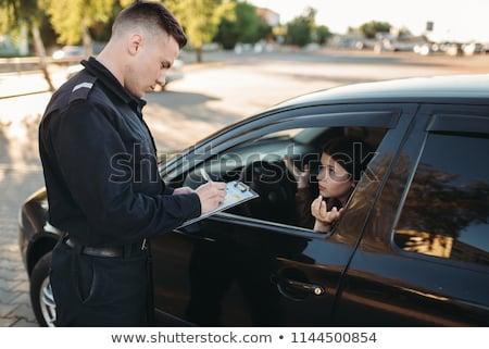 Police check Stock photo © tilo