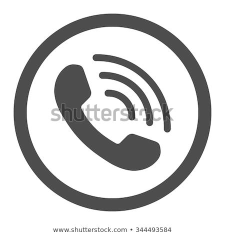 Speaker volume icon gray colors stock photo © aliaksandra