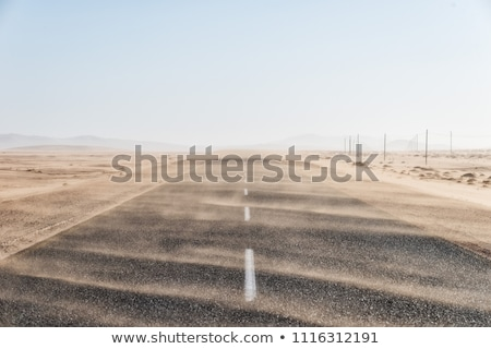 Road With Storm waves Stock photo © Lightsource