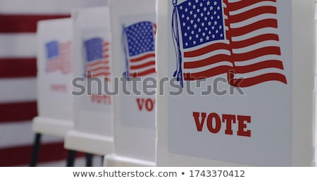 american vote stock photo © lightsource