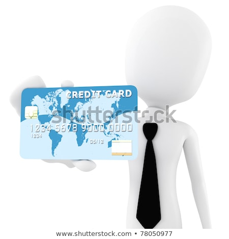 3d man with his friend and partner concept Stock photo © nithin_abraham