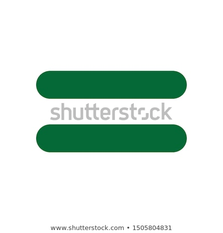 Mathematical Sign Green Vector Icon Design Stock photo © rizwanali3d
