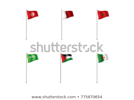 United Arab Emirates and Morocco Flags Stock photo © Istanbul2009
