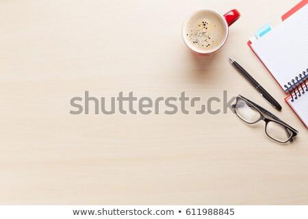Sucesso mesa de madeira palavra negócio escritório criança Foto stock © fuzzbones0