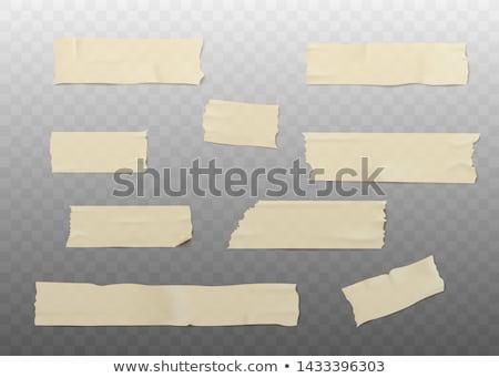 dangereux · matériel · jaune · bande - photo stock © pakete