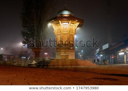 ミナレット · モスク · 屋根 · 旧市街 · カバー · 家 - ストックフォト © zurijeta