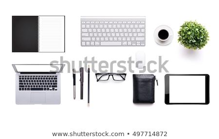 top · view · vettore · set · ufficio · lavoro - foto d'archivio © kali