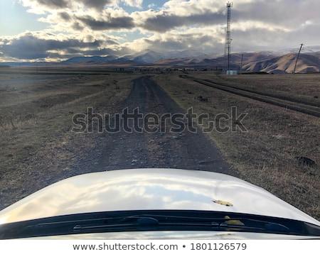 View through car window, nature scene, not road Stock photo © zurijeta