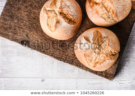 breakfast with homemade bread stock photo © zurijeta