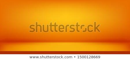 オレンジ ハロウィン 木 捨てられた 描いた 明るい ストックフォト © blackmoon979