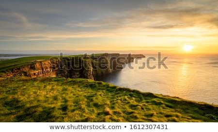 cliffs of moher and atlantic ocean in ireland Stock photo © dolgachov