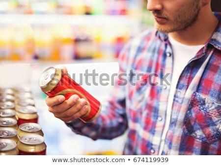 Beer cans, selective focus Stock photo © stevanovicigor