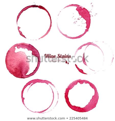 Red Wine Droplet Stock photo © albund