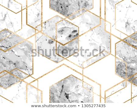White geometric seamless texture, vector illustration. Stock photo © kup1984