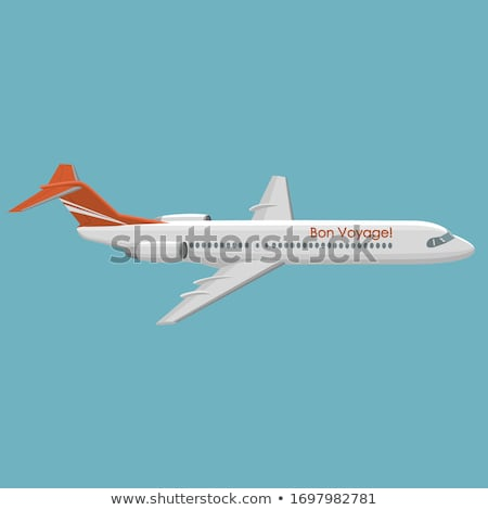 Large airliner Stock photo © tracer