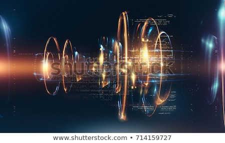 illustration of abstract cybernetic effects Stock photo © ssuaphoto