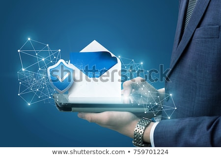 internet email security stock photo © lightsource
