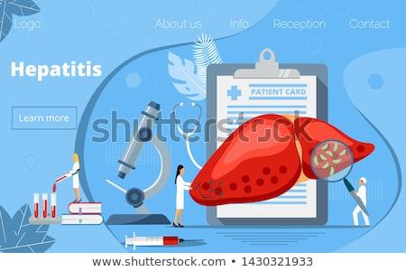 icon  World Hepatitis Day Stock photo © Olena