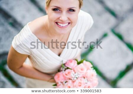 speranza · aspettative · bellezza · ritratto · donna - foto d'archivio © is2