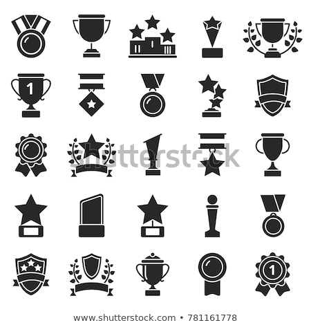 award icon in different style stock photo © sidmay