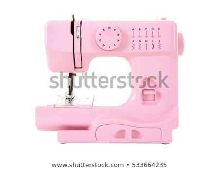 катушка розовый белый изолированный моде дизайна Сток-фото © OleksandrO