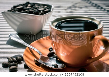 Coffee beans in disorder Stock photo © dash