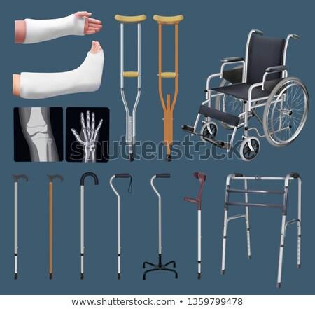 mannelijke · arts · illustratie · stethoscoop · geïsoleerd · arts · medische - stockfoto © maryvalery