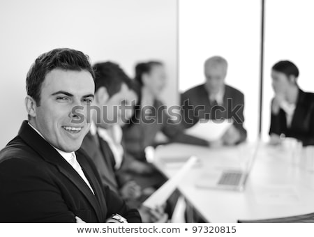 Team work business  working discussing a new financial plan with Stock photo © snowing