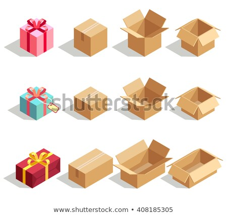boş · kapalı · kutu · gönderemezsiniz · konteyner - stok fotoğraf © robuart