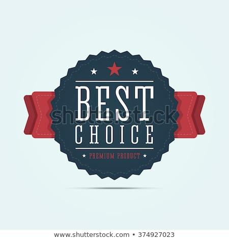 Legjobb választás prémium áru vásár bannerek szett Stock fotó © robuart